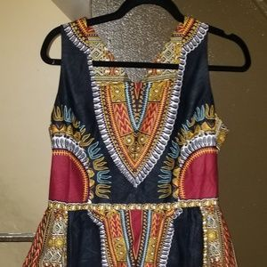 Dresses & Skirts - Traditional Print African Dress